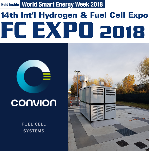 Convion at FC EXPO 2018