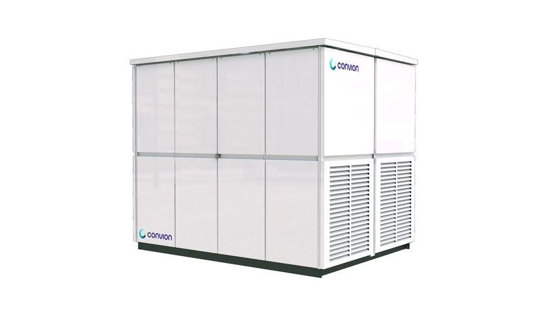 Convion C60 is a modular fuel cell co-generation system